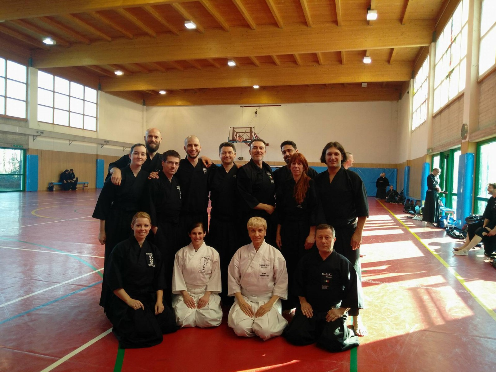 International Iaido Seminar in Carvico. Jan 26-28, 2018; Bergamo, Italy / Семинар по иайдо (техника владения традиционным японским мечом). Январь 2018, Бергамо, Италия.