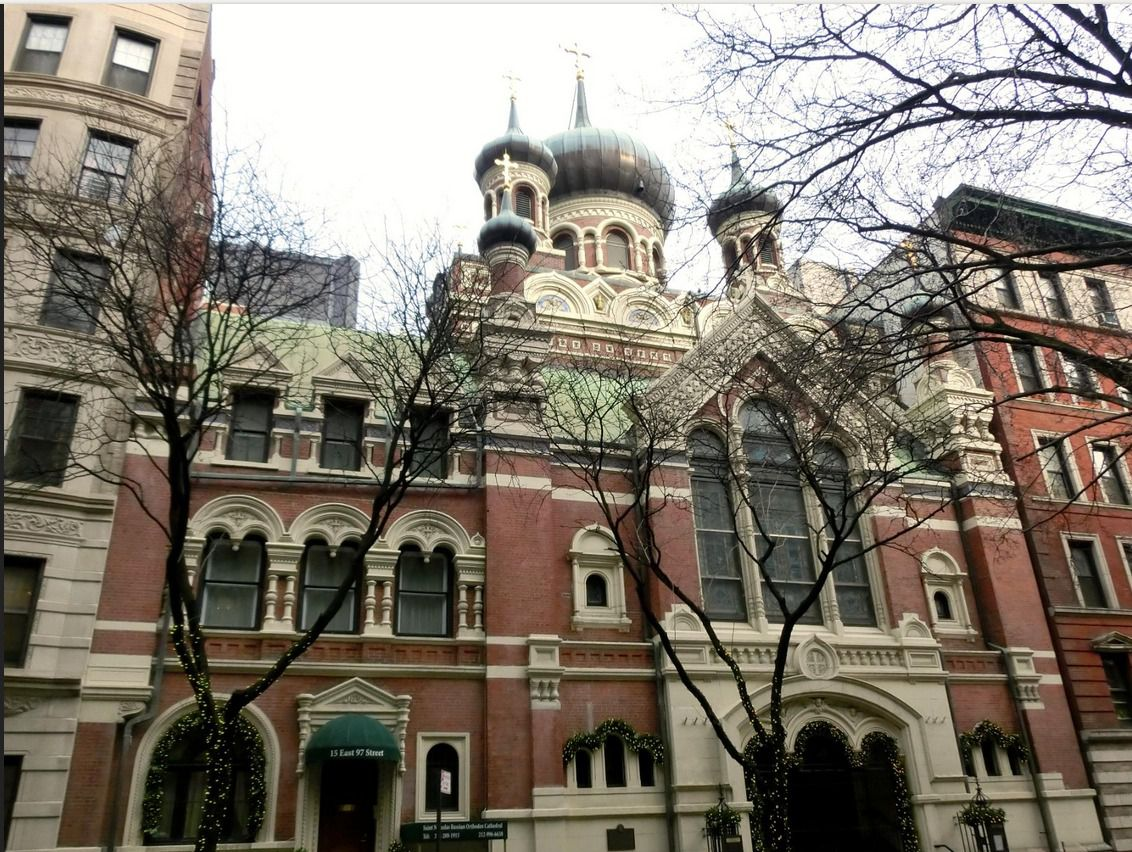 ST. NICHOLAS RUSSIAN ORTHODOX CATHEDRAL. NYC. Photo: Moscowresident11 / www.tripadvisor.ru