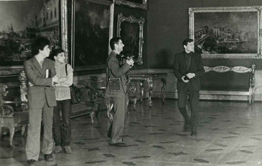 Экспонат #75. В музее Эрмитажа. Ленинград. 80-е годы