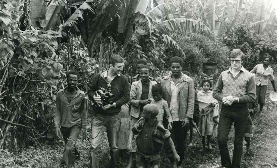 Экспонат #64. В Эфиопии. 1984 год