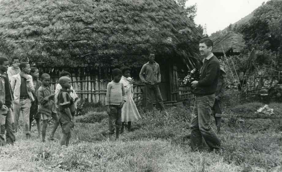 Экспонат #67. Снимает В. Извеков. Эфиопия, 1984 год
