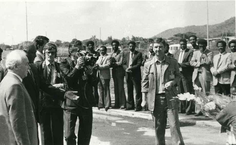 Экспонат #63. Визит члена политбюро ЦК КПСС Г. Романова в Эфиопию. 1984 год