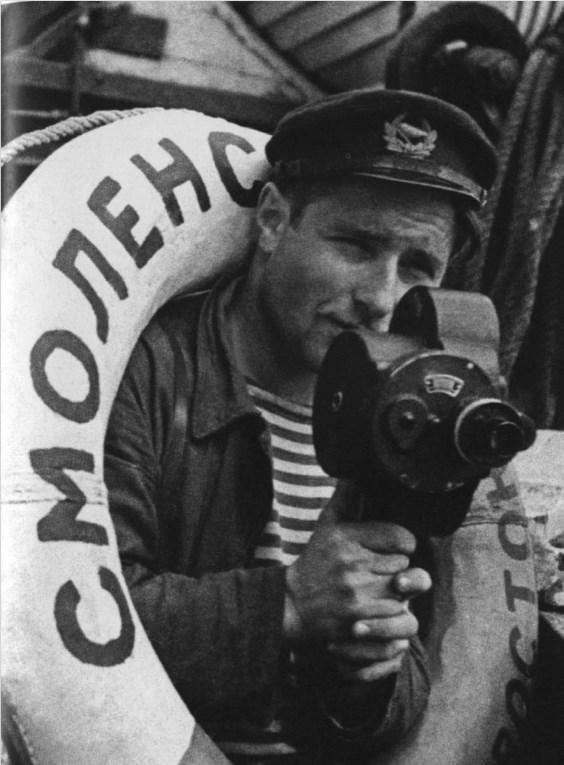 Экспонат #22. На пароходе «Смоленск». 1934 год
