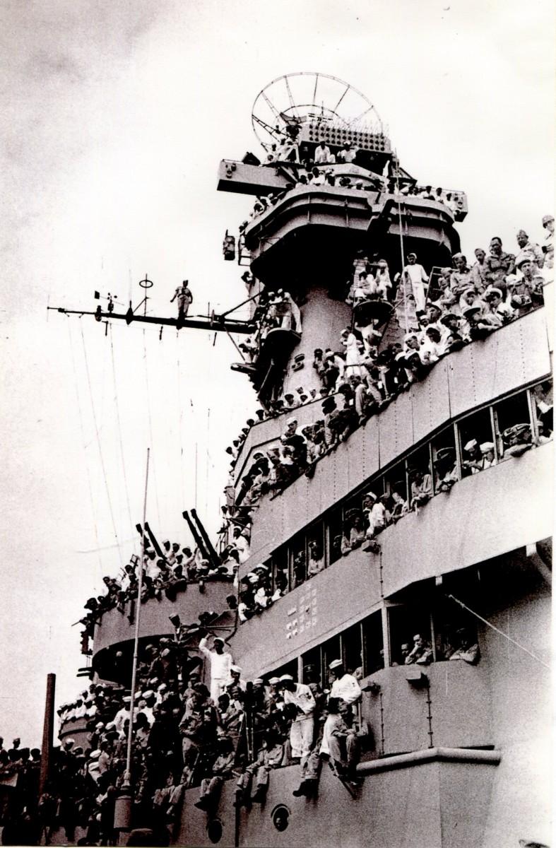 Экспонат #74. Подписание акта о капитуляции Японии на линкоре «Миссури» 02 сентября 1945 года