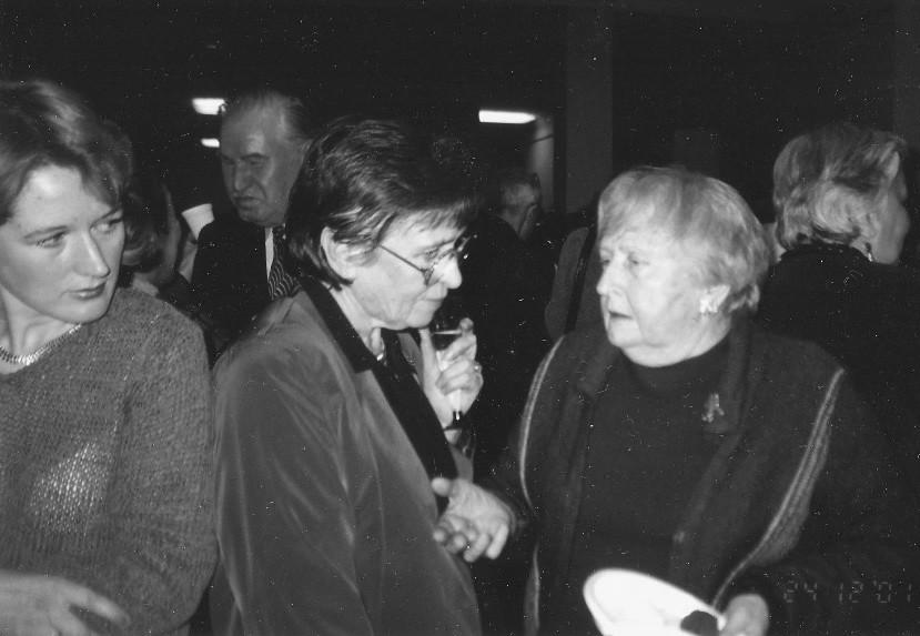 Экспонат #73. С Татьяной Кононовой. 24 декабря 2001 года