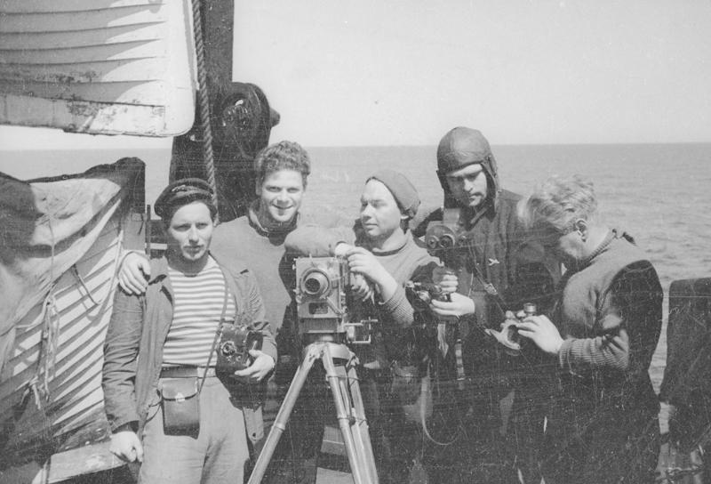 Экспонат #20. На пароходе «Смоленск» после «челюскинской эпопеи»