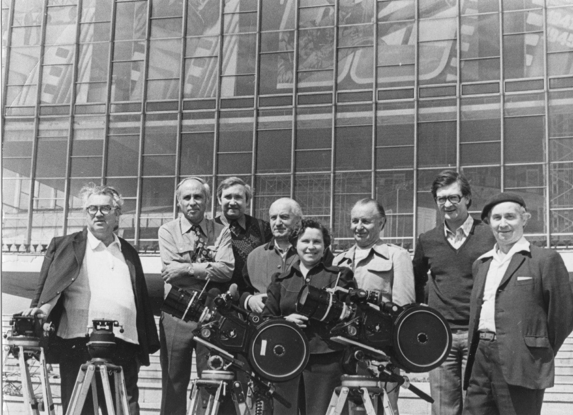 """На выставке """"60 ЛЕТ СОВЕТСКОГО КИНО"""". 1979 год"""