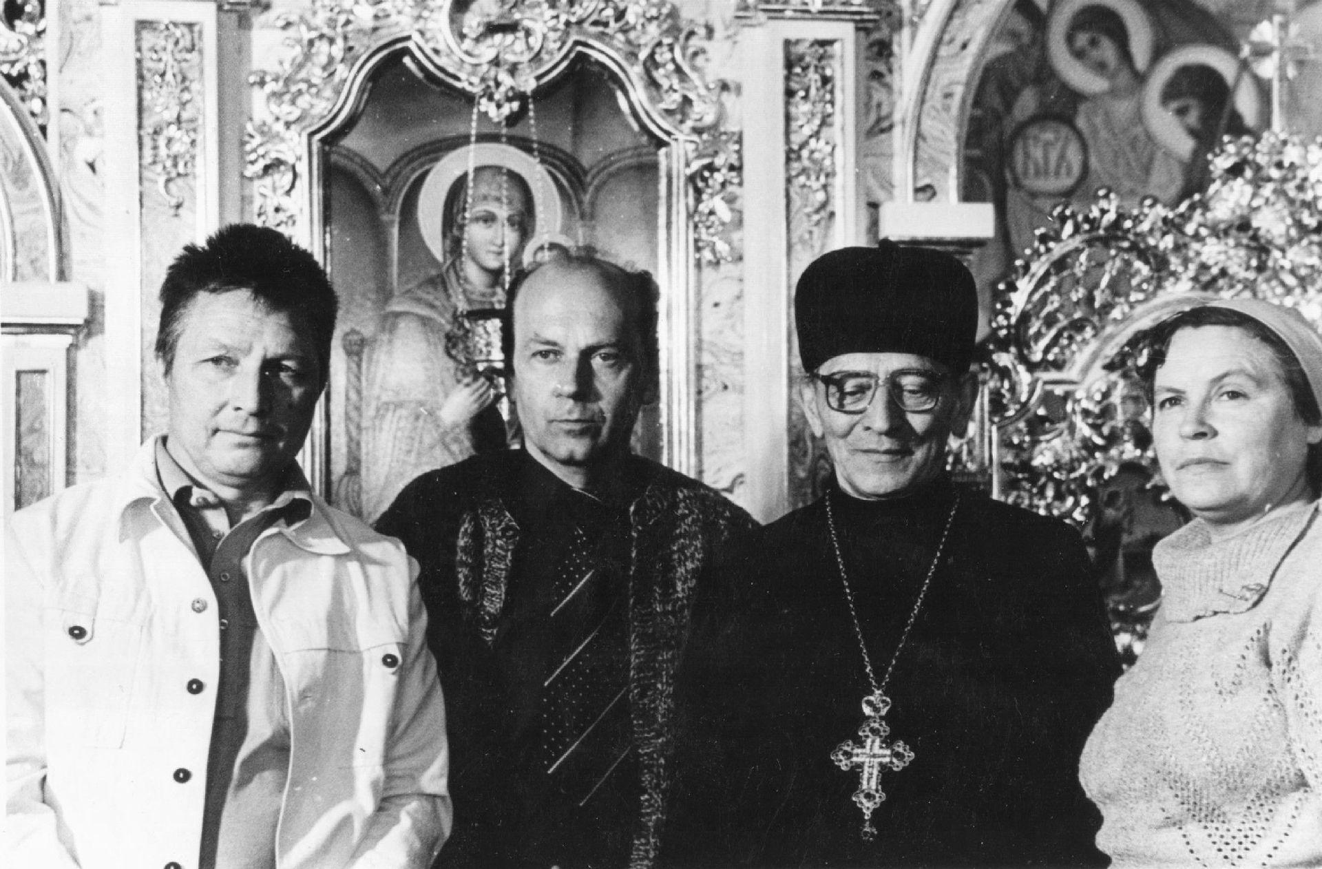 С Игорем Осиповым и Ролланом Сергиенко