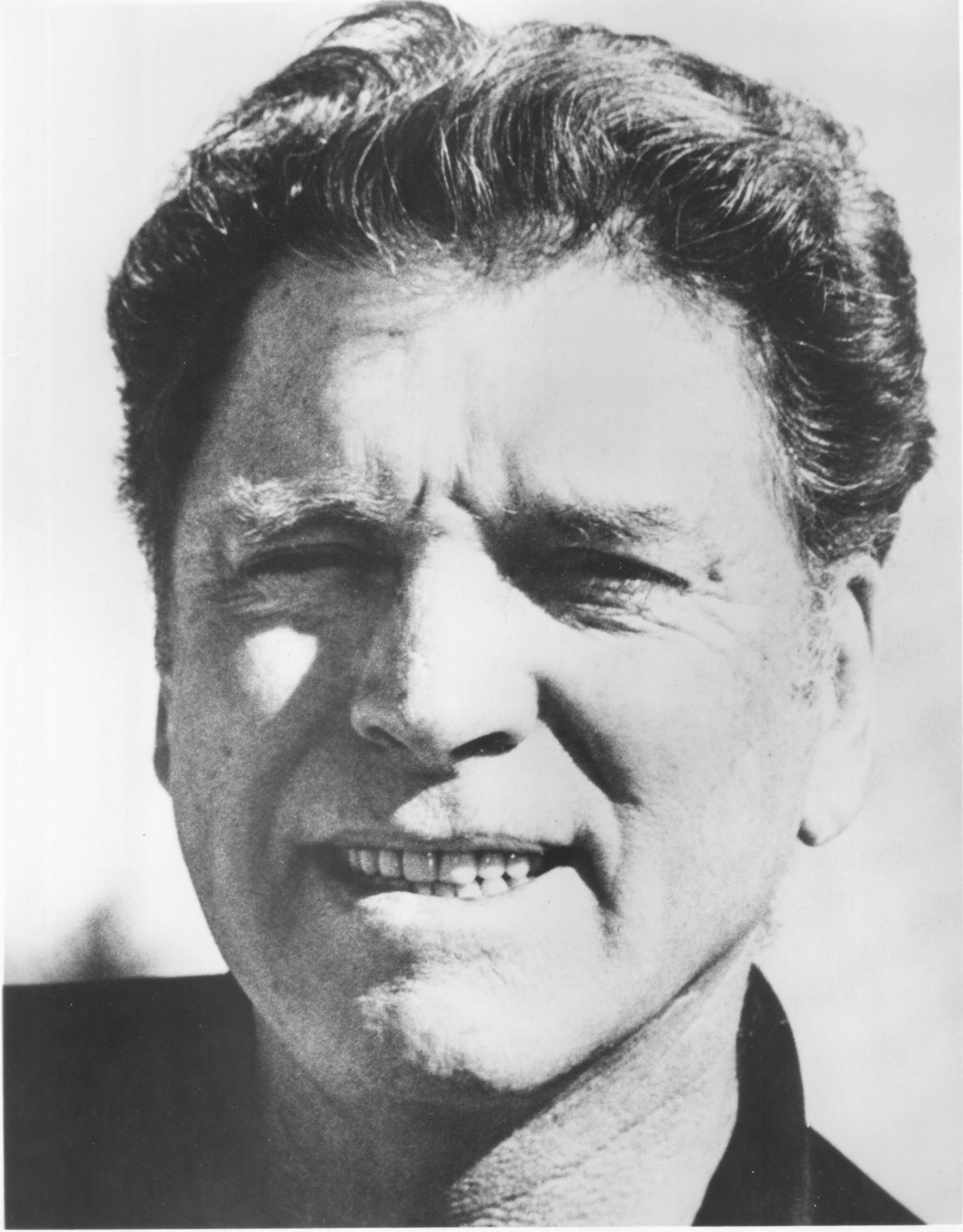 "Burt Lancaster is the host narrator of ""The Unknown War"""