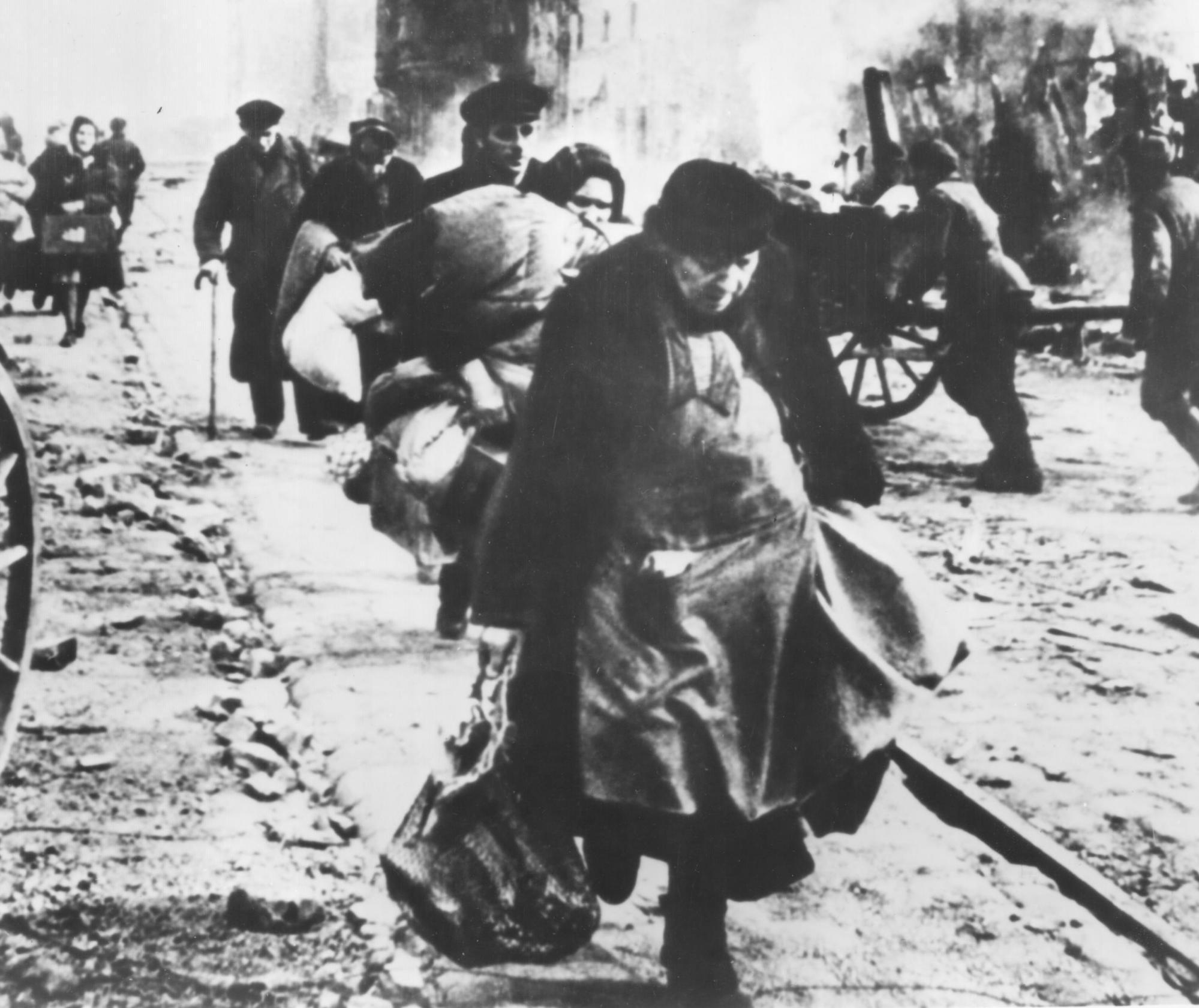 The city of Stalingrad...