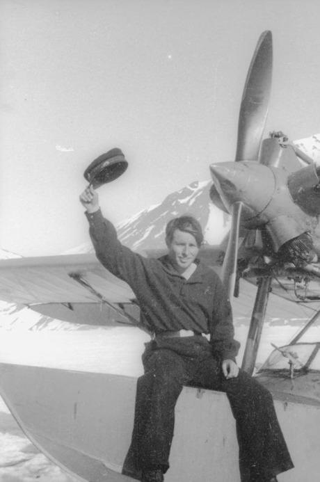 Экспонат #26. В бухте Провидения. 1934 год