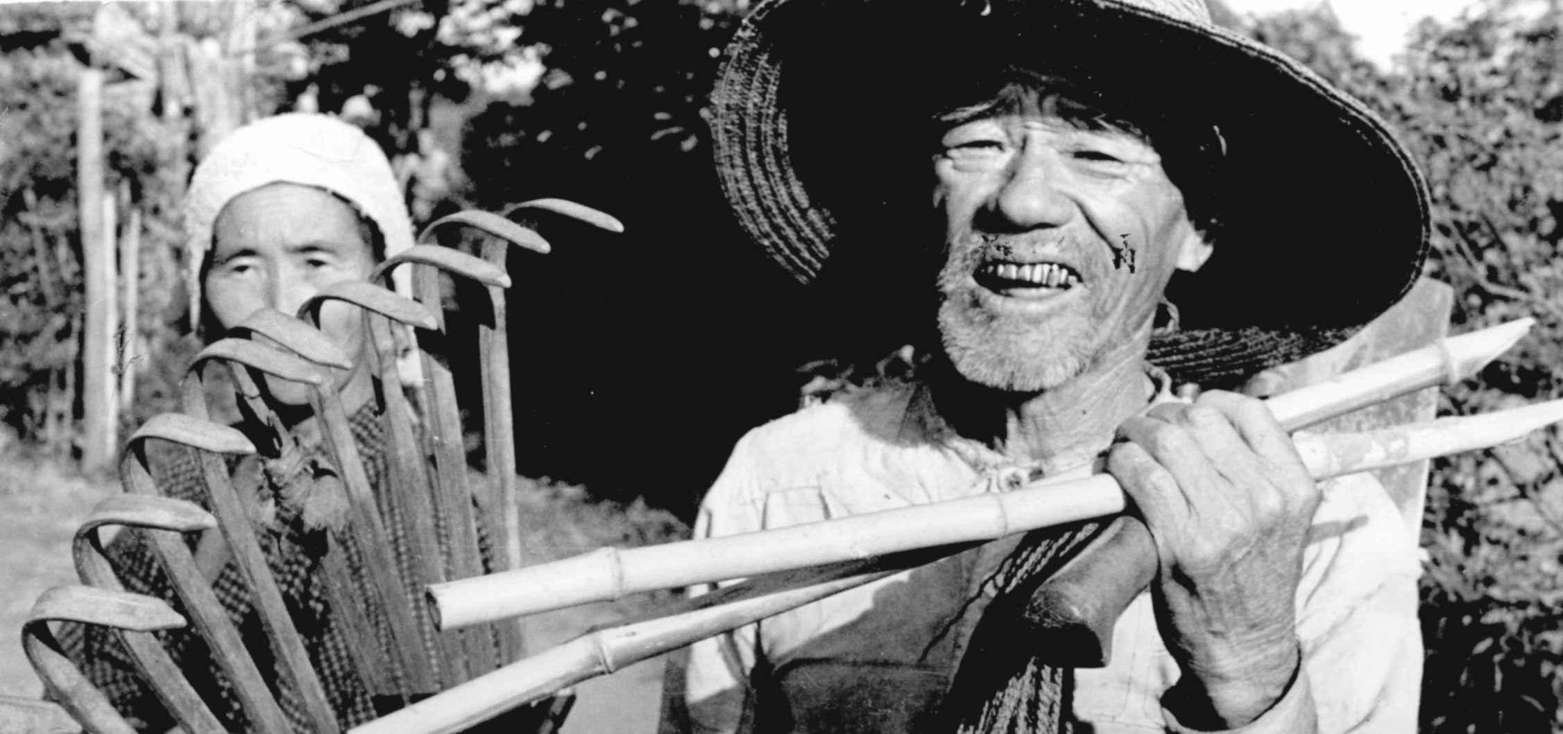 Экспонат #21. Съёмки японской деревни. Сентябрь 1945 года