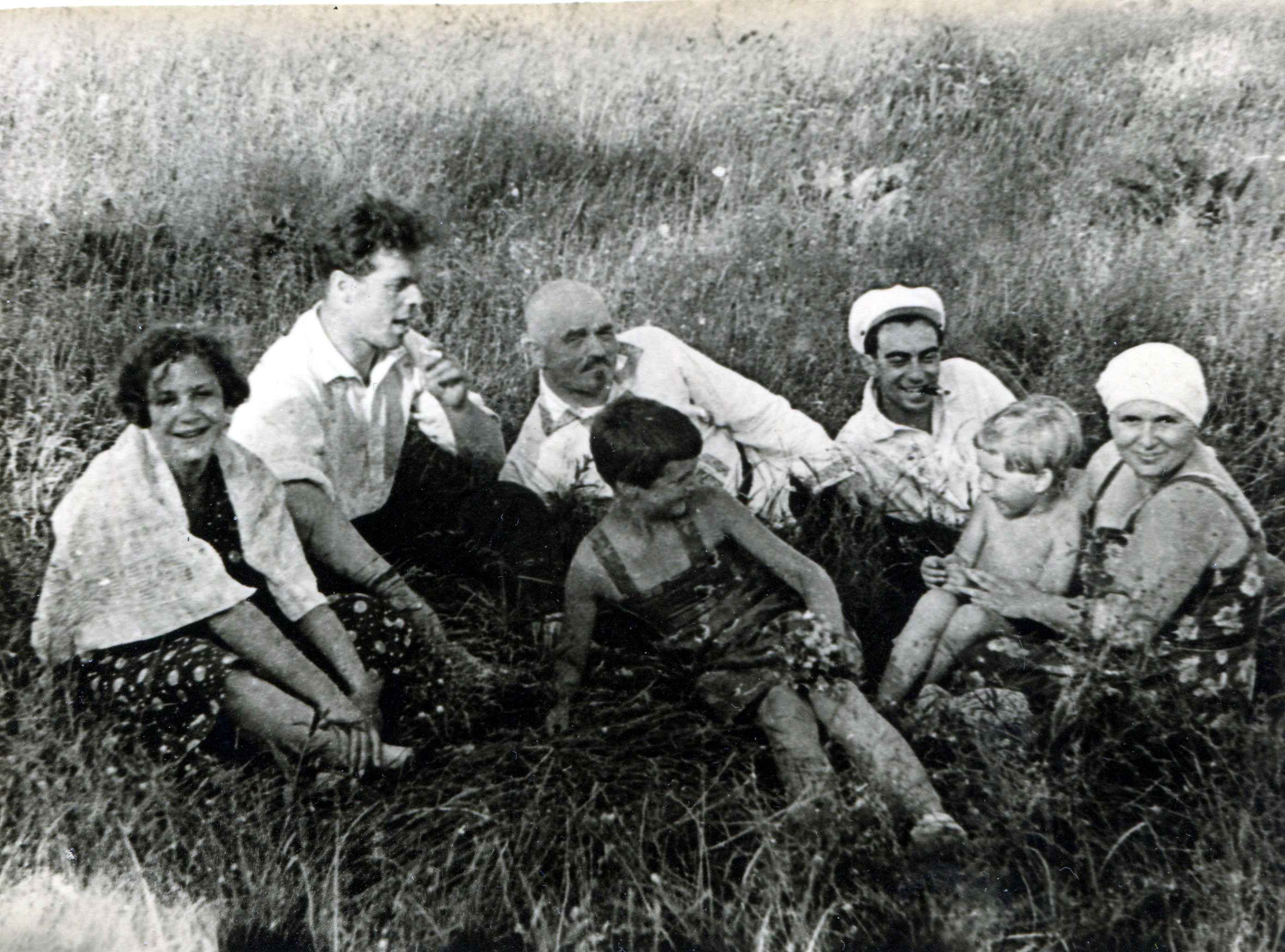Экспонат #19. С Николаем Васильевичем Бойковым и Марией Спандарьян