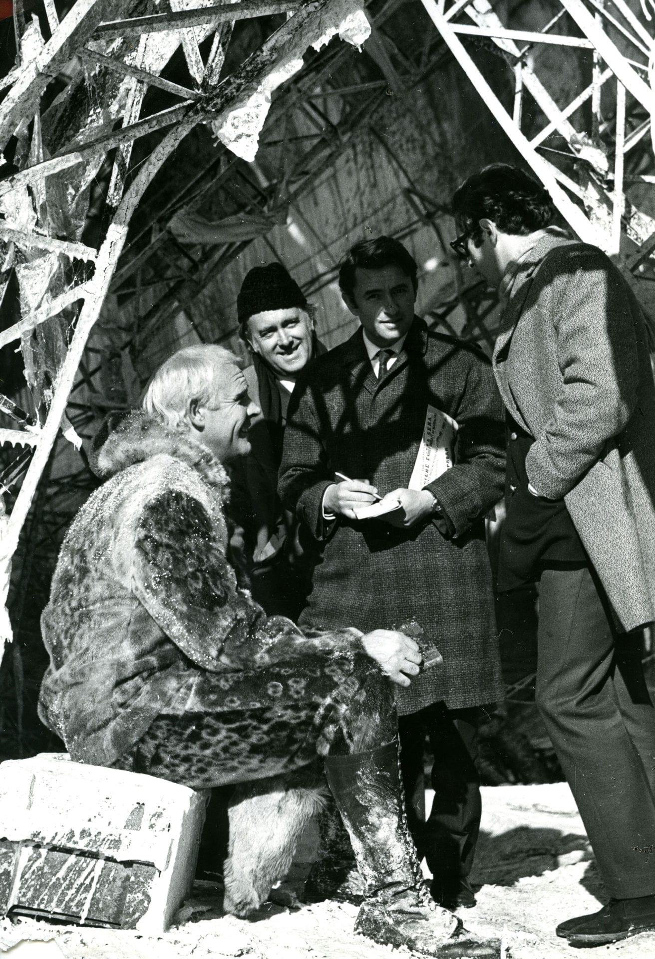 Экспонат #3.  С Никитой Михалковым. Фильм«Красная палатка». 1968 –1969 год