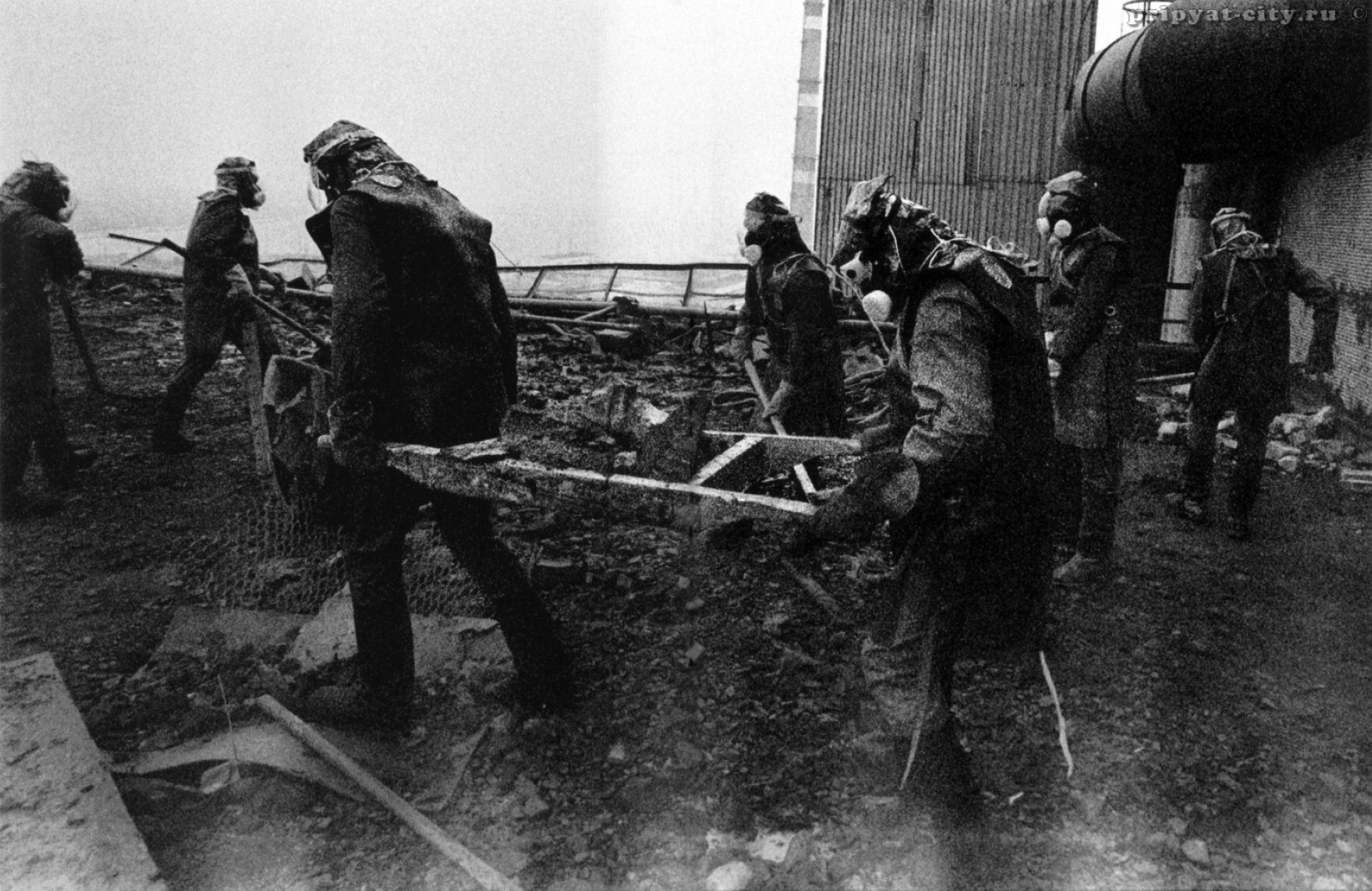 Экспонат #10. Чернобыльская авария. 1986 год