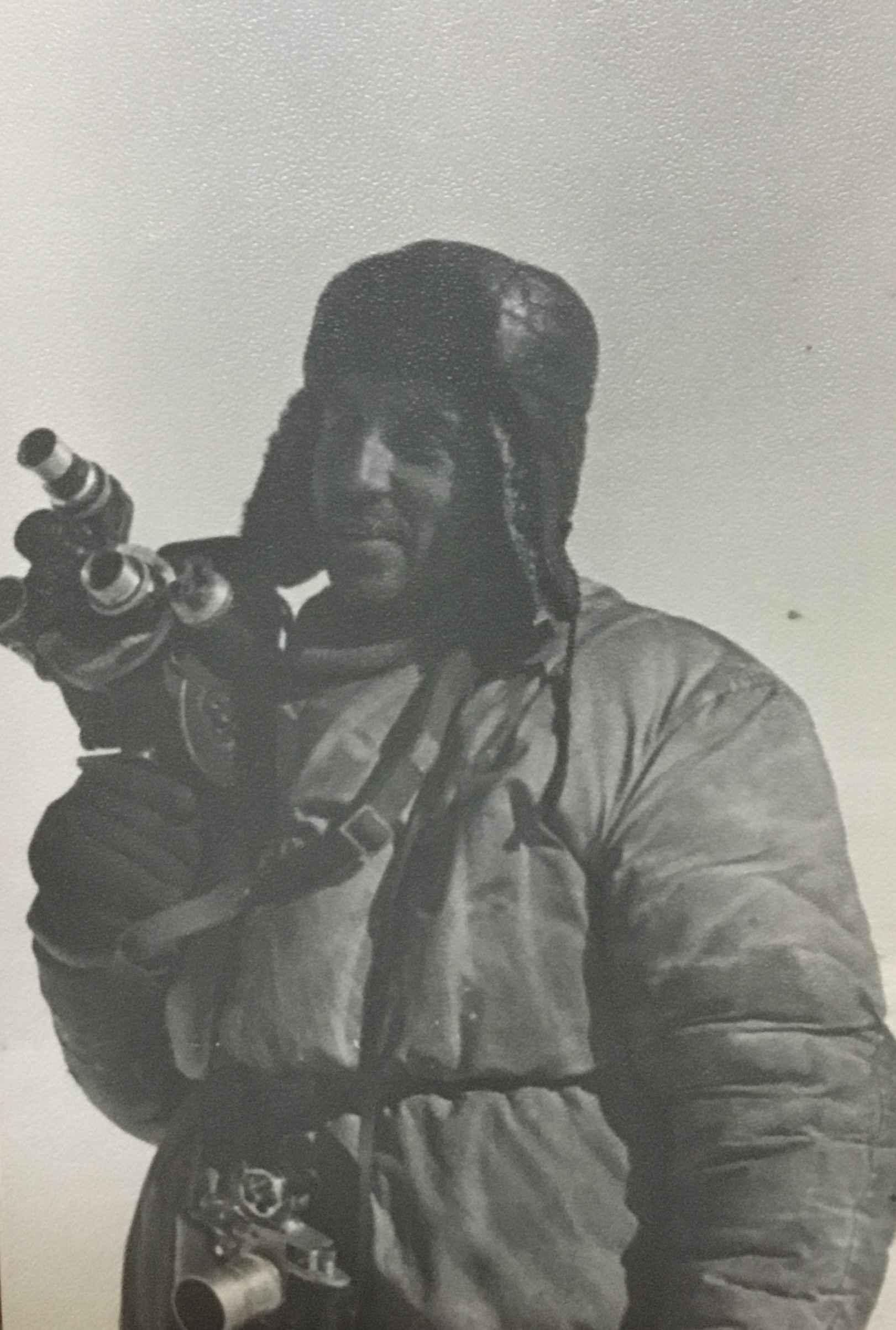 Экспонат #13. Оператор Николай Шмаков в Антарктиде. 1957 — 1958 гг.