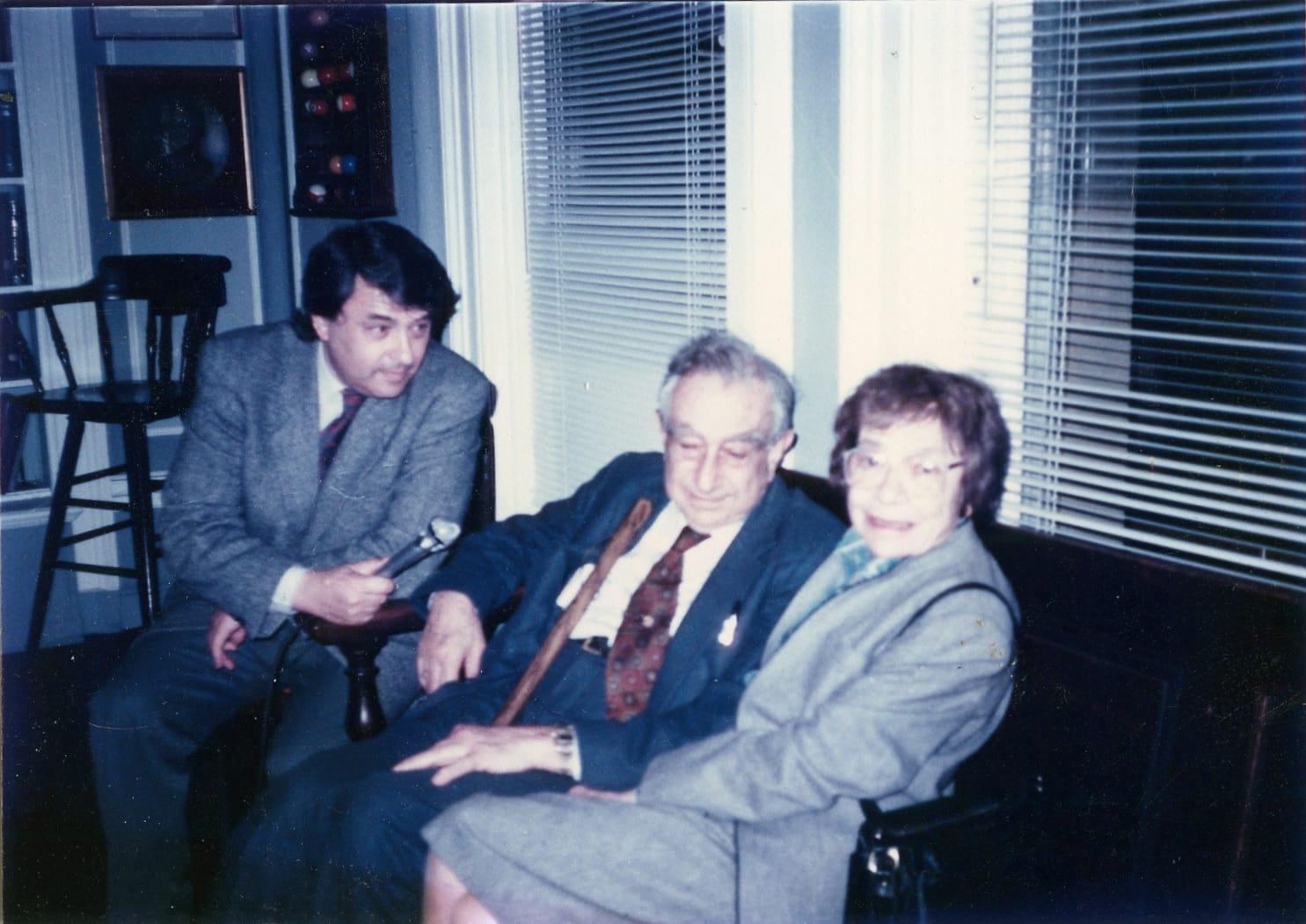 Экспонат #13. С американским физиком Эдвардом Теллером. США. 1988 год