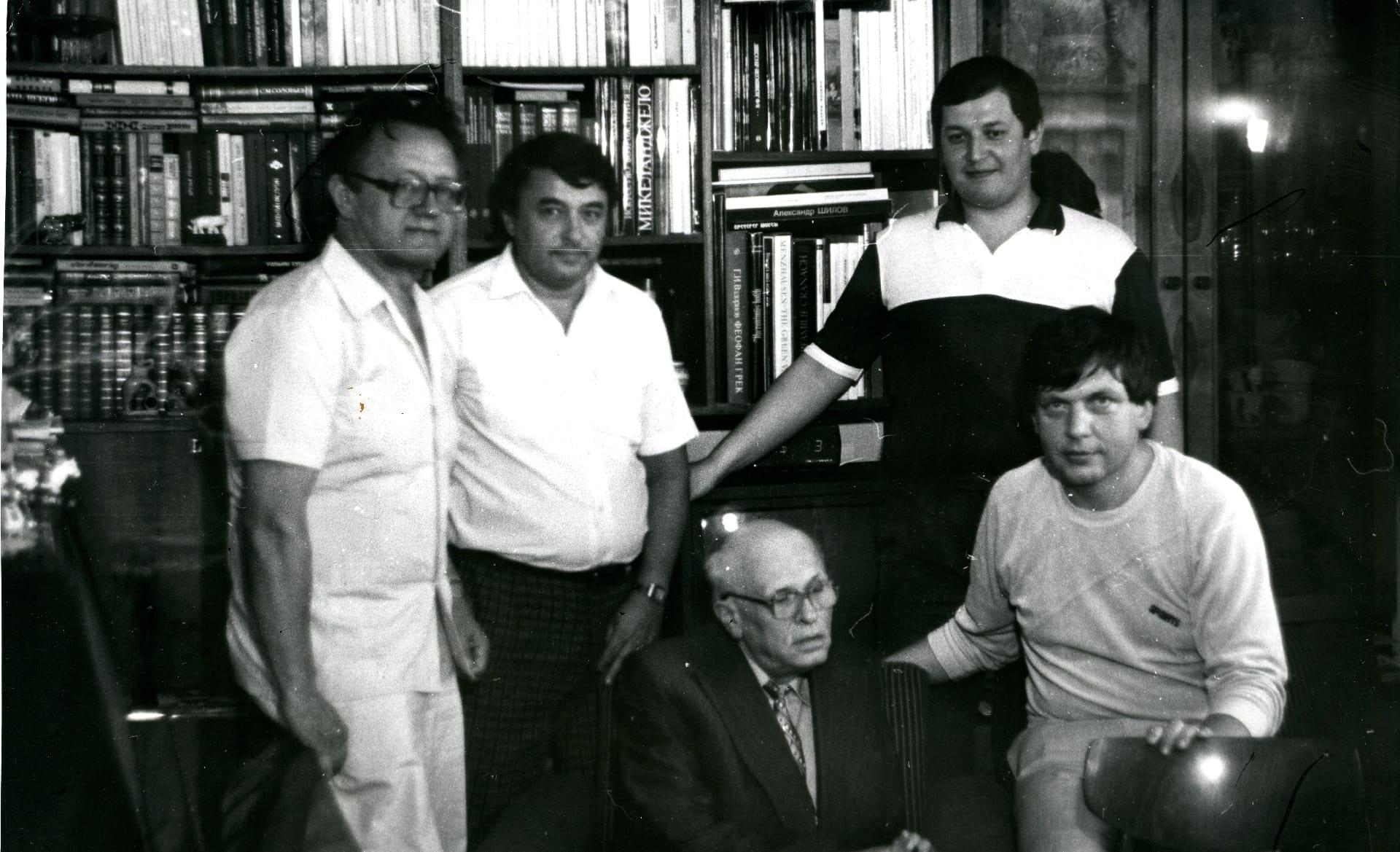 Экспонат #19. С  академиком Андреем Сахаровым. 1988 год