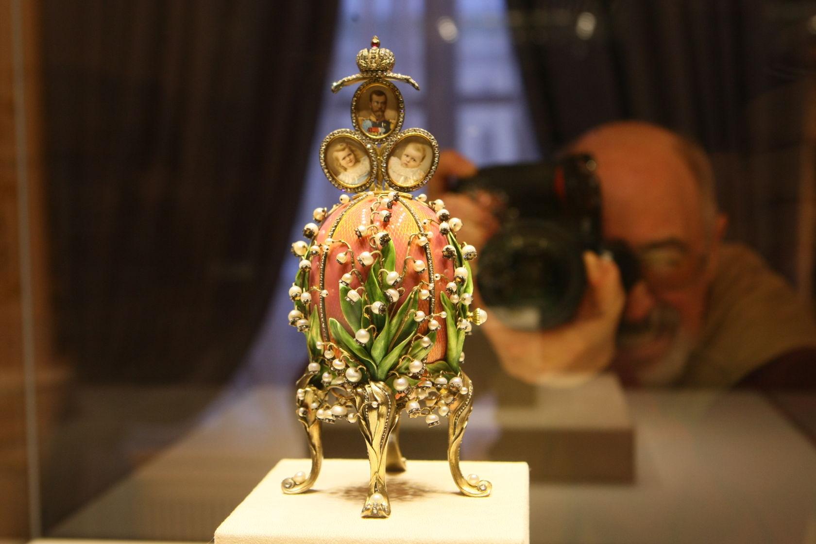Экспонат #23. Пасхальное императорское яйцо