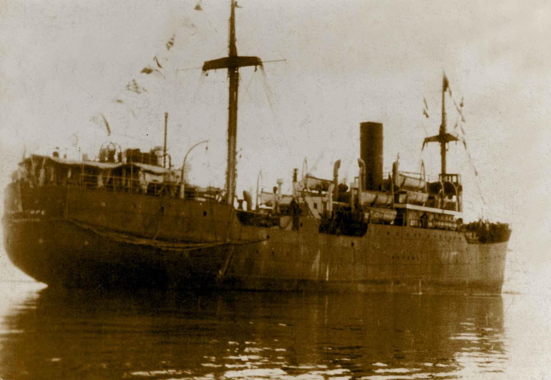 Экспонат #29. Пароход«Смоленск». 1934 год