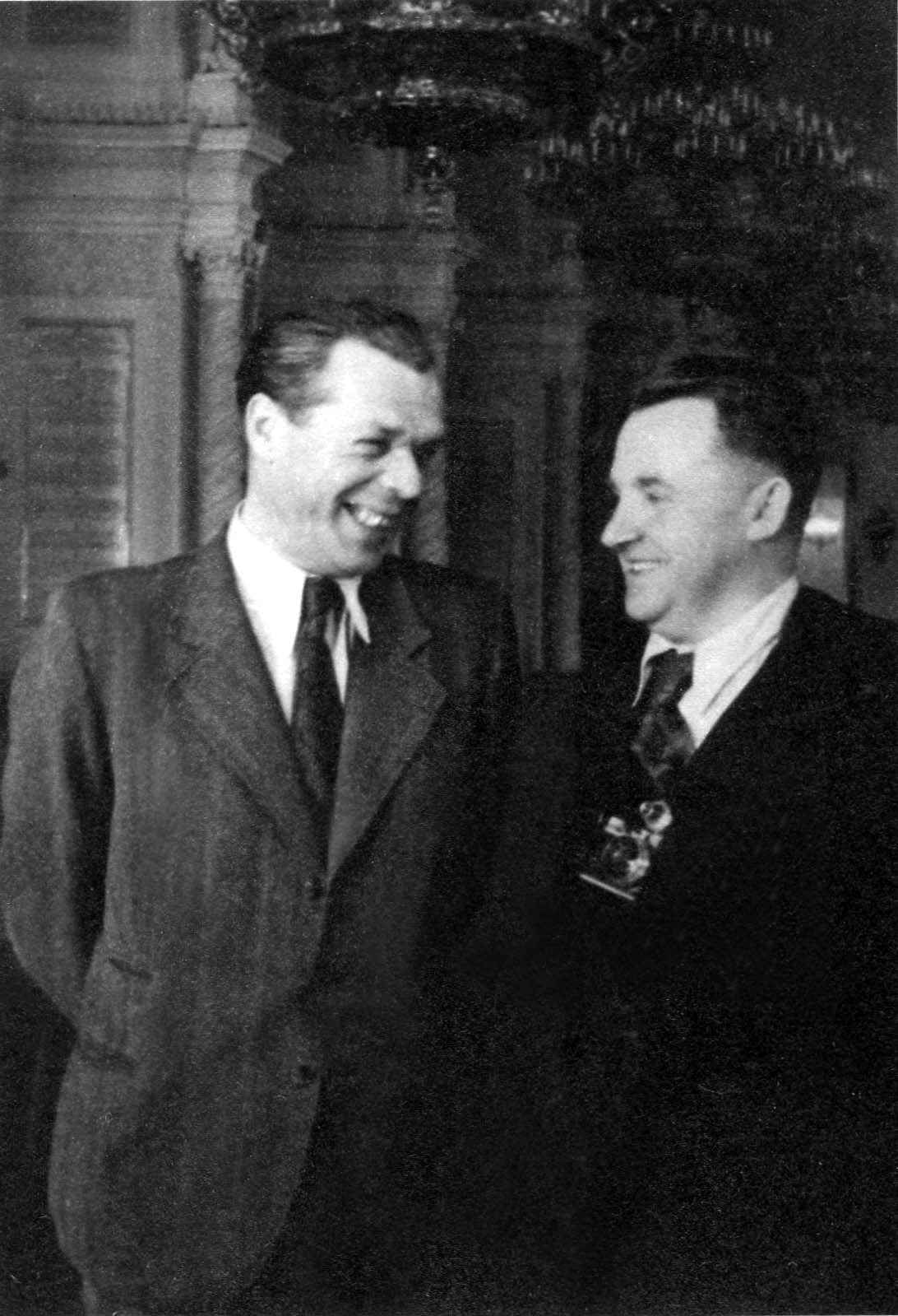 Экспонат #39. В Георгиевском зале БКД. 1948 год