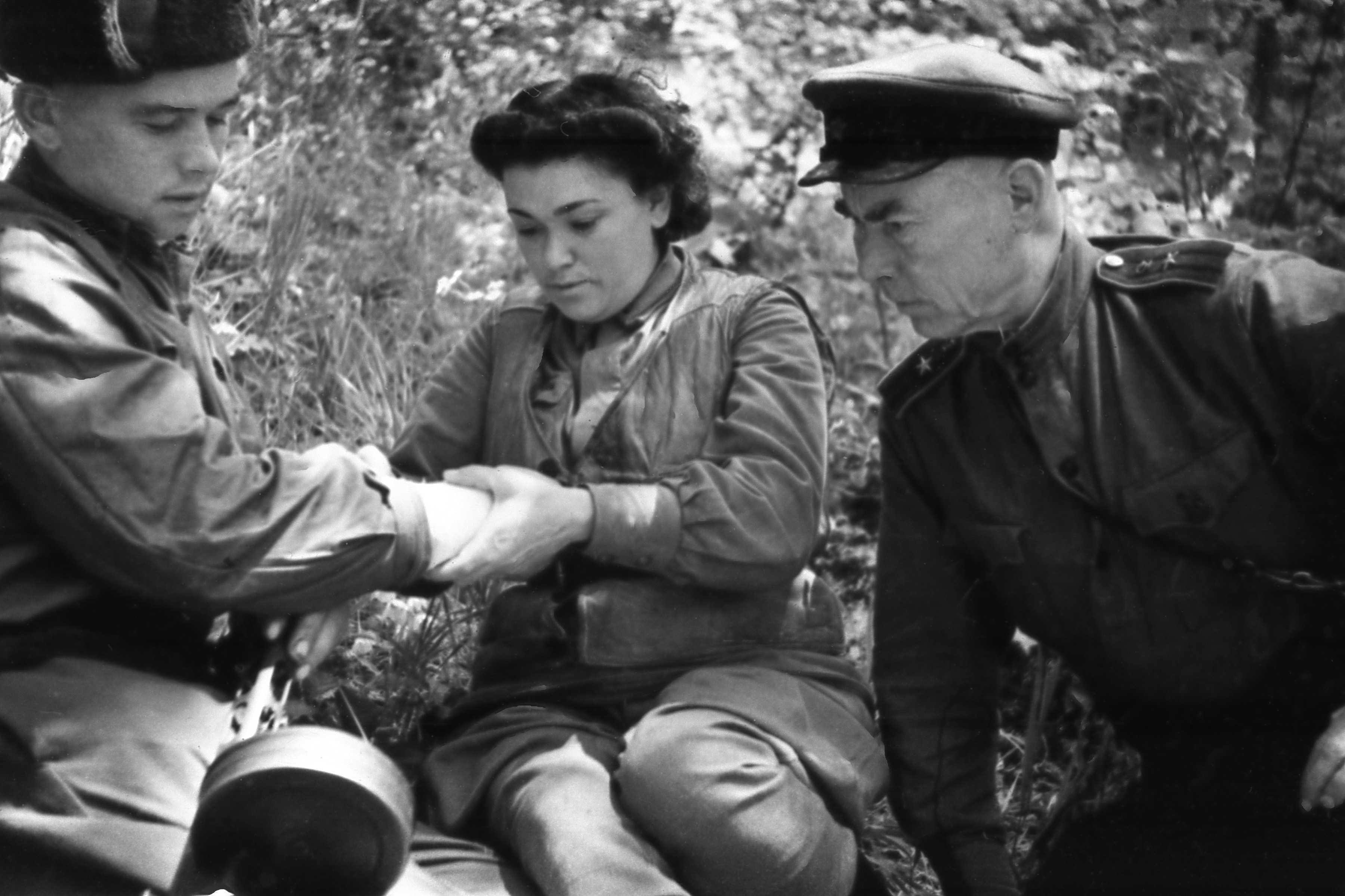 Экспонат #19. Санчасть партизанской группы Серго. Лето 1943 года