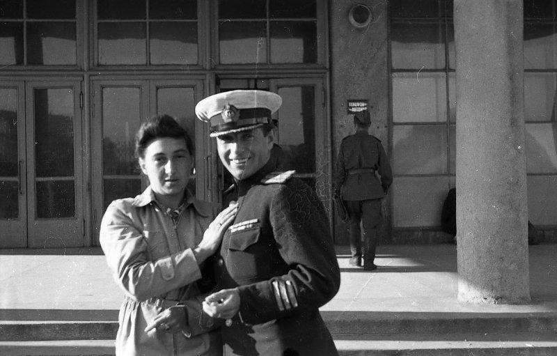 Экспонат #79. Зоя Матвеевна и Владислав Владиславович Микоши. 1945-1946 гг.