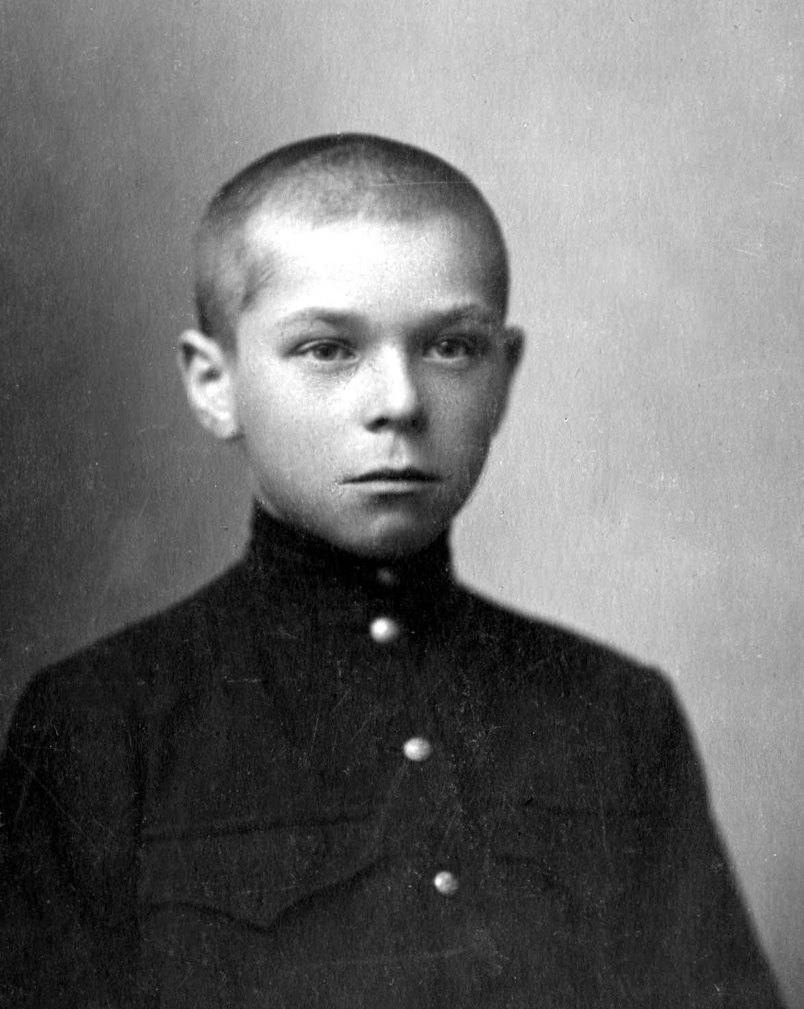 Экспонат #2. Владимир Бойков — ученик школы 2-й ступени в Немчиновке