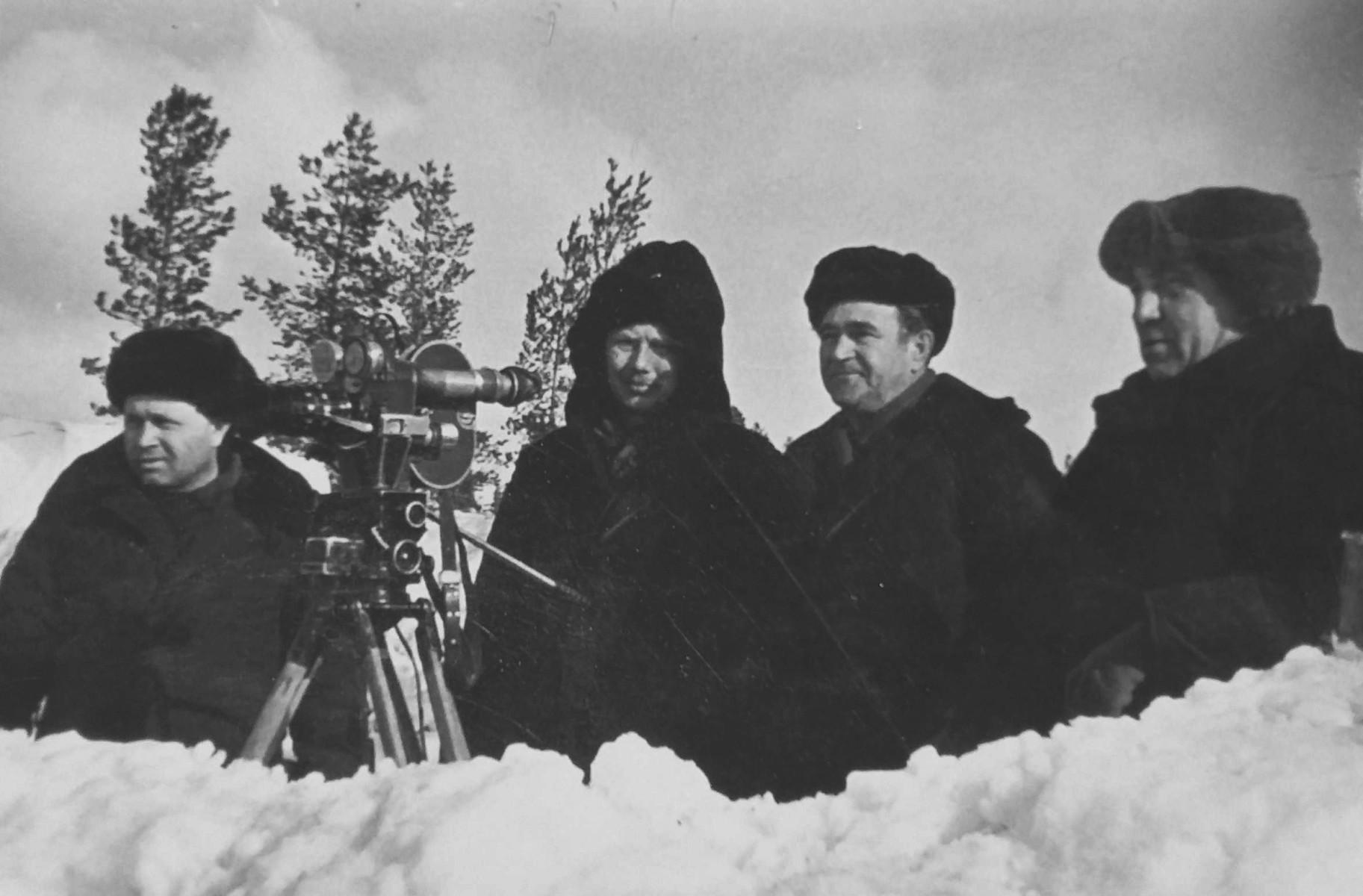 Экспонат #25. С Истоминым, Завьяловым и Никифоровым