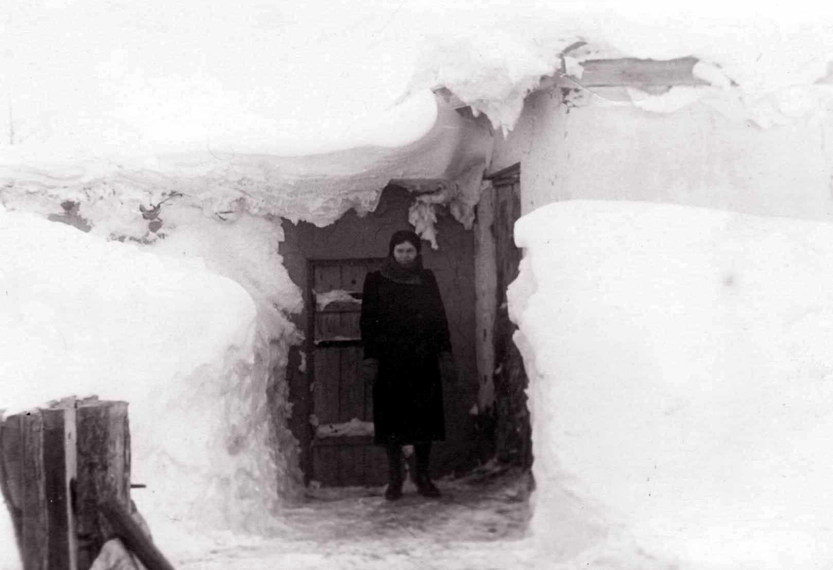 Экспонат #46. Долинка зимой. 30-е годы