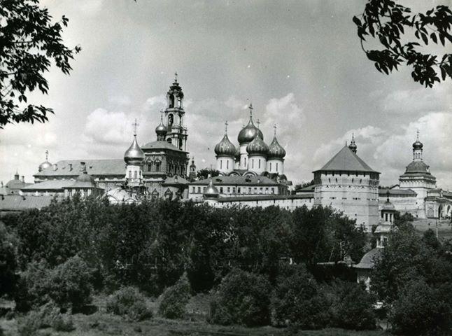 Вид на Троице-Сергиеву лавру. Фото Михаила Силенко