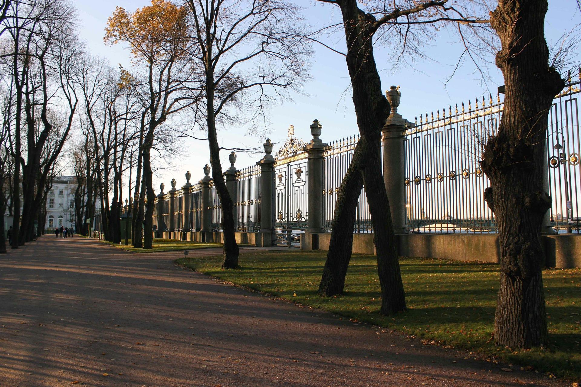 Экспонат #24. Ограда Летнего сада