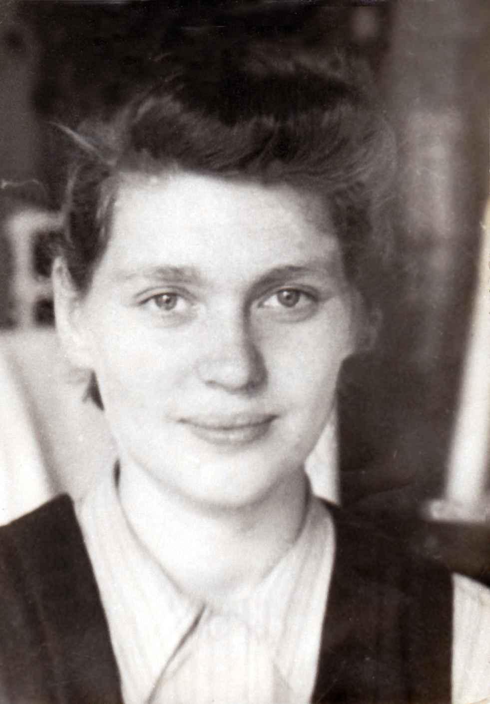 Экспонат #82. Валерия Юльевна Микоша. 1946 год