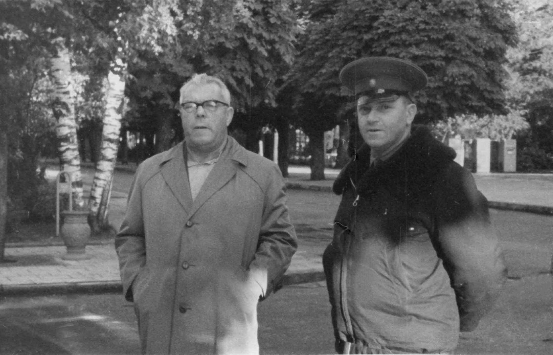 Экспонат #66. С полковником Олегом Кулишевым. 1962 год