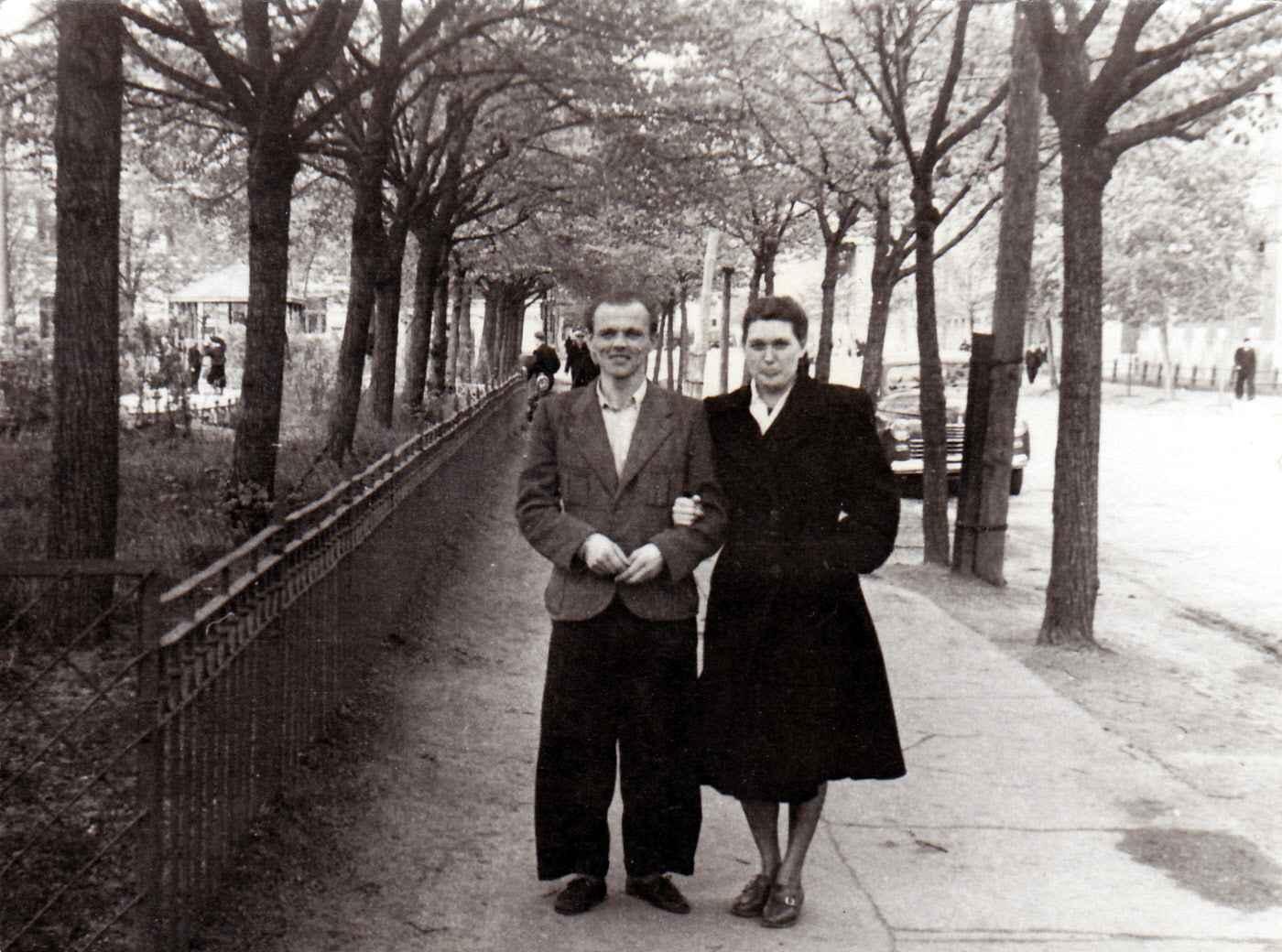 Экспонат #83. Валерия Юльевна Микоша и Соколов Борис Александрович. Москва, 1946-1947 гг.