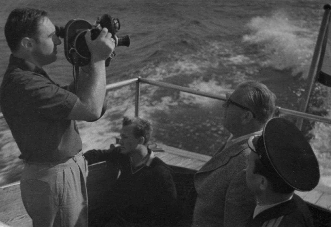 Экспонат #63. Снимает Олег Арцеулов. Фильм «Это наш флот!»(1962)