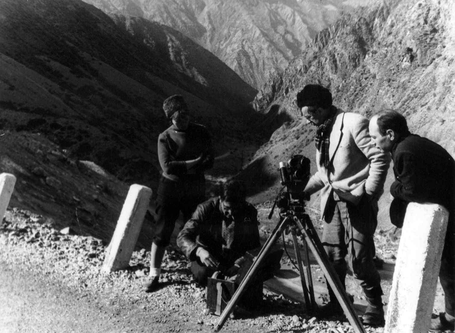 Экспонат #30. В горахТянь-Шаня. 1962 год