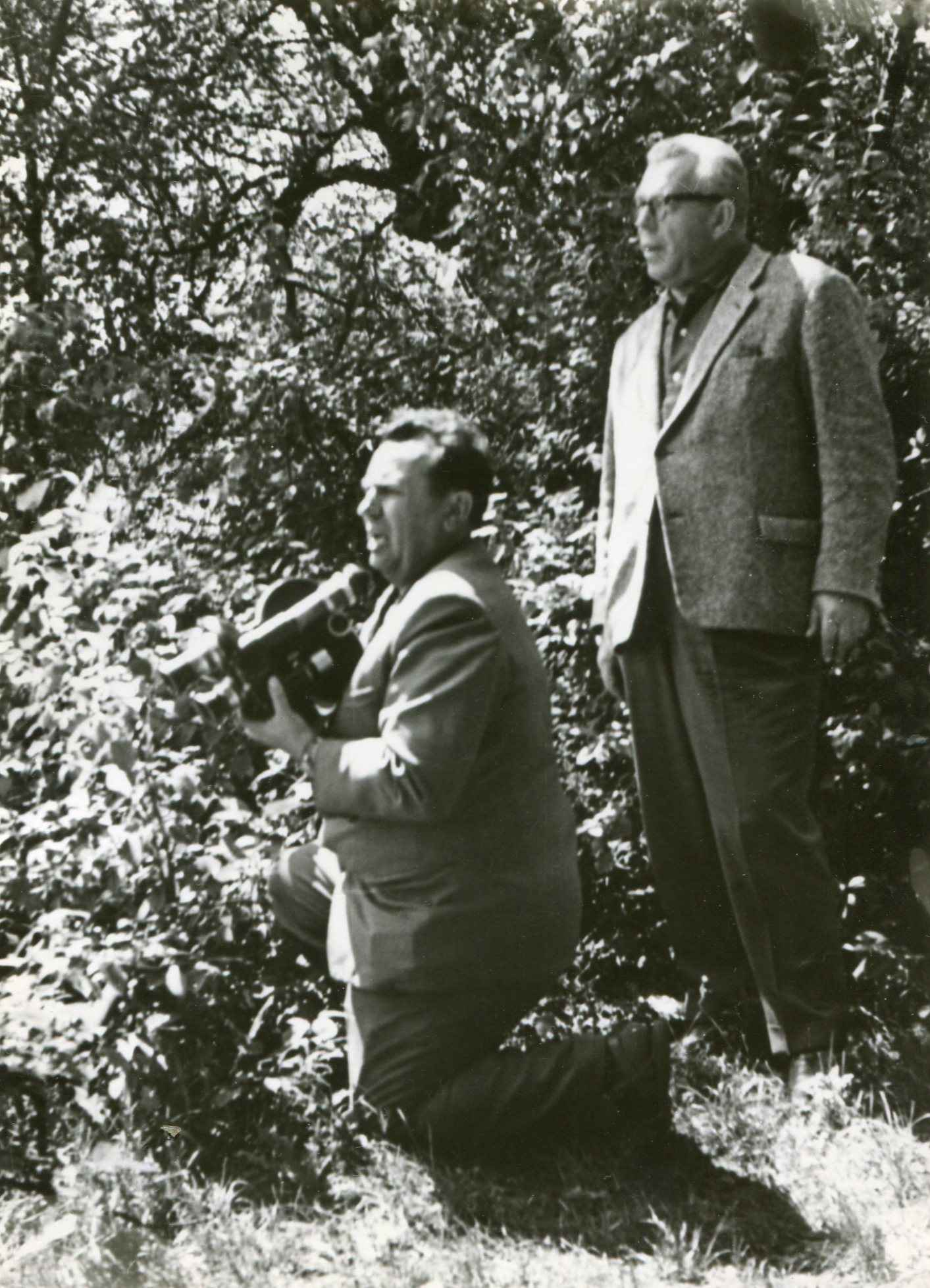 Экспонат #73. Снимает Петр Опрышко. 1967 год