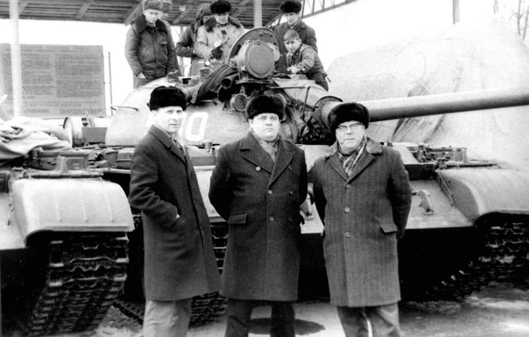 Экспонат #90. В Таманской дивизии. 1974 год