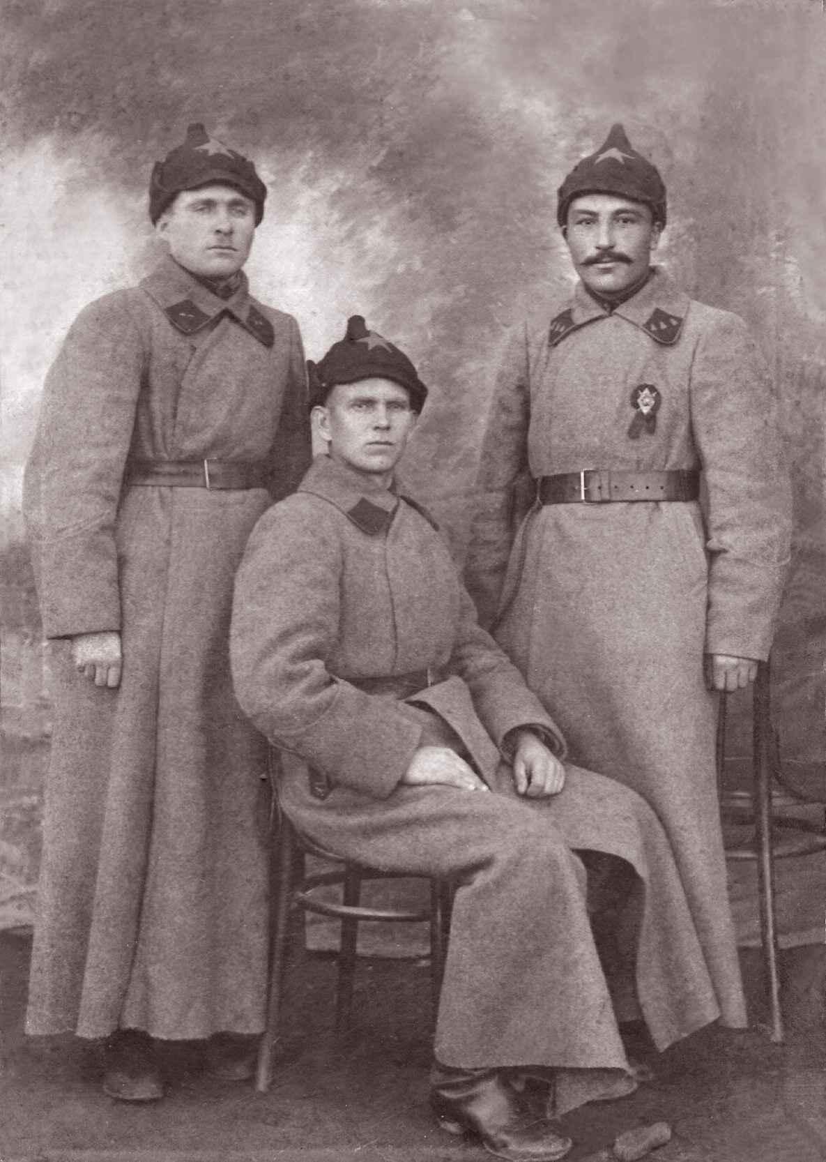 Экспонат #4. Юлий – помощник командира взвода в Первой Конармии. 1919 год
