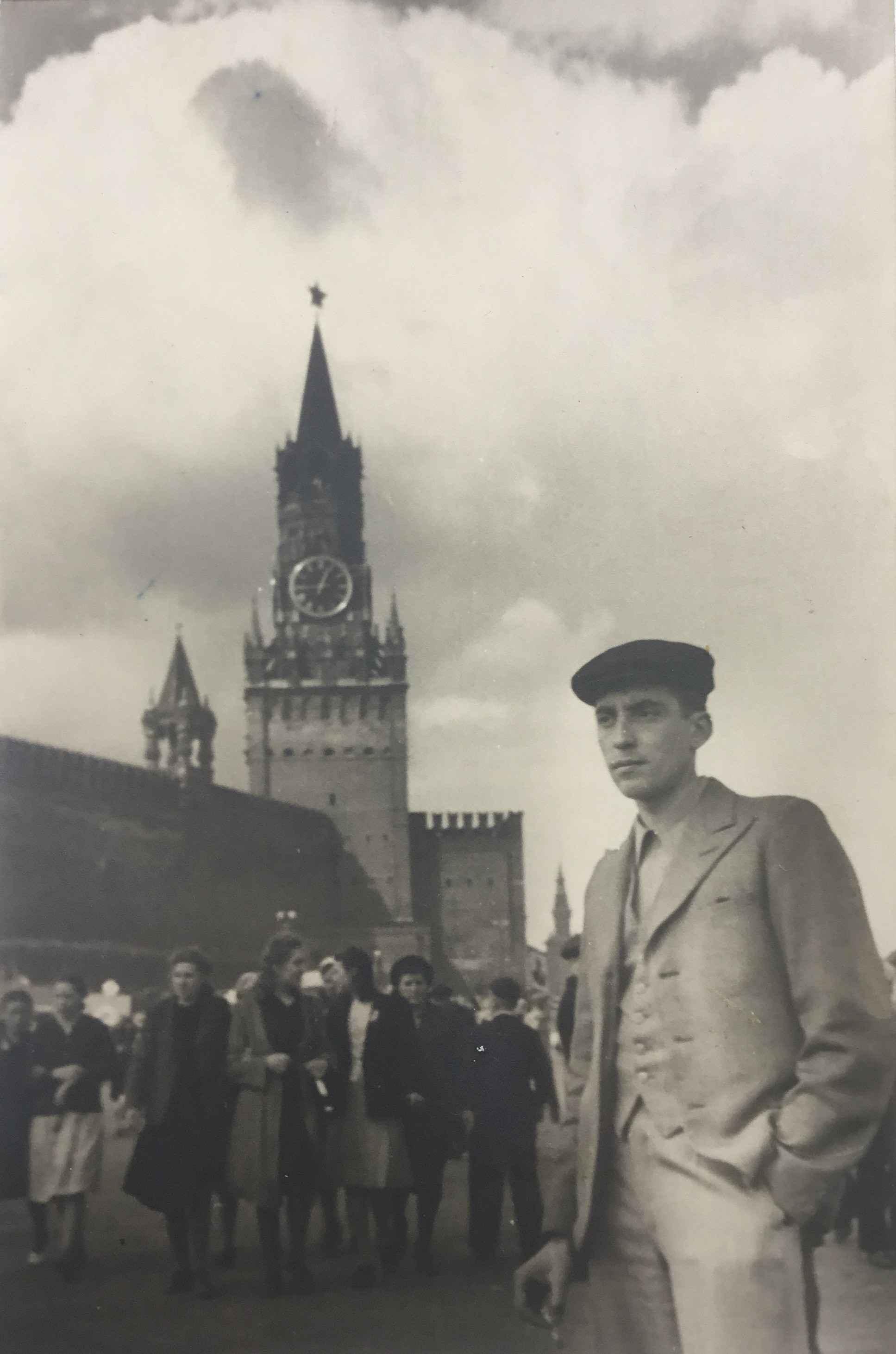 Экспонат #3. Асс. оператора Николай Шмаков. 1950 год