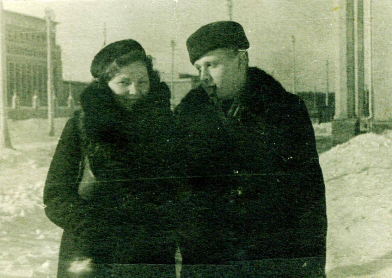 Михаил Силенко с женой Александрой Семеновной Иовенко