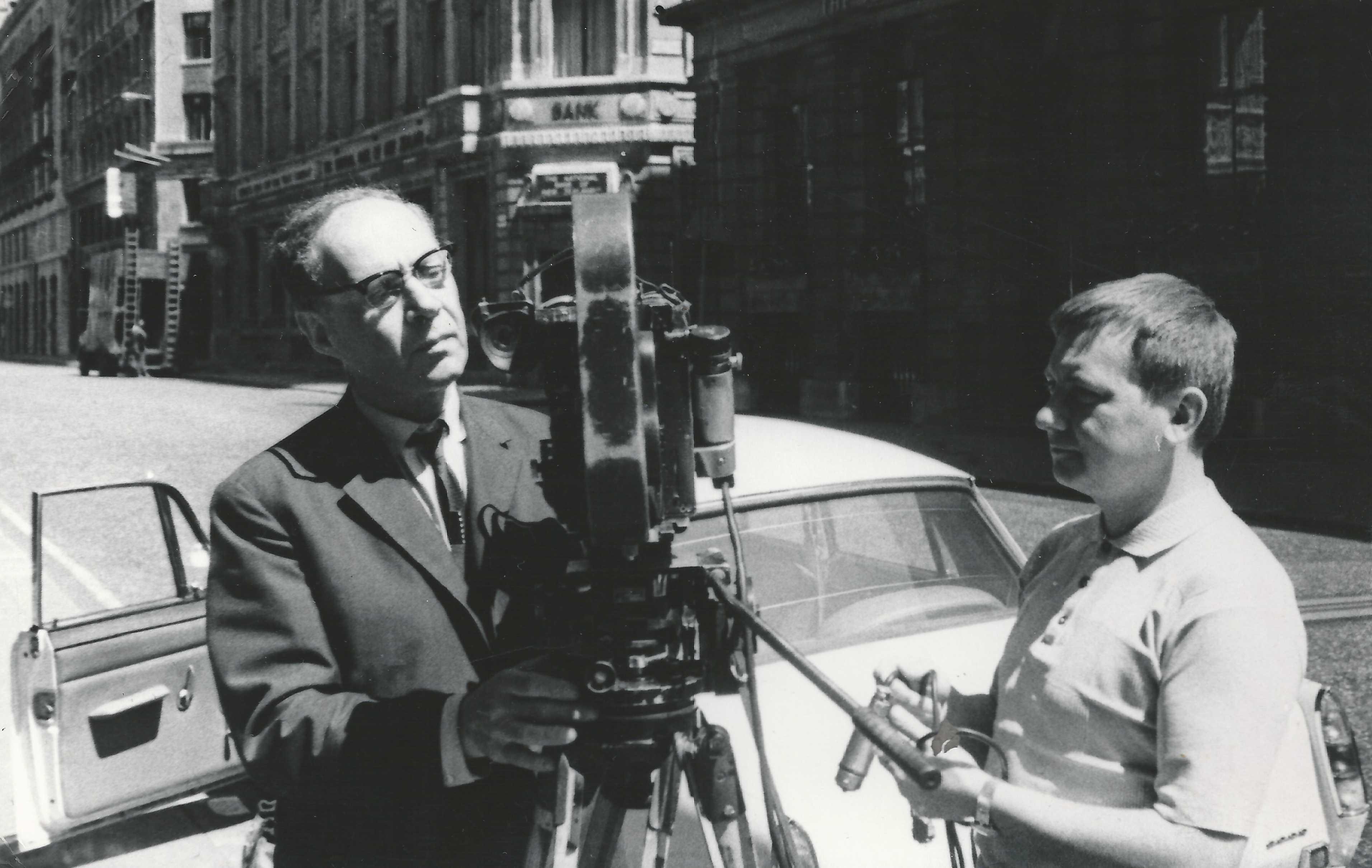 Экспонат #5. С оператором А. Левитаном. Лондон. 1968 год