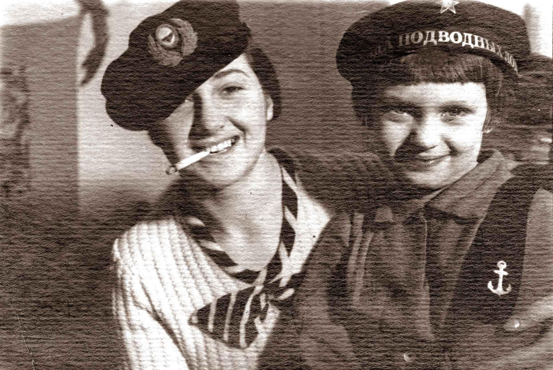 Экспонат #36. Зоя Матвеевна и Лера Микоша. г. Москва. 1935 год