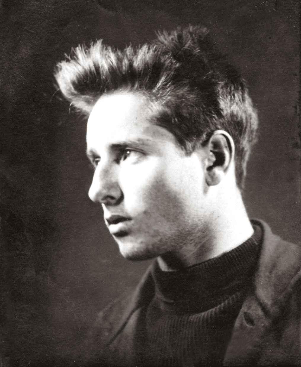 Экспонат #9. Владислав Микоша на экзаменах в ГТКа. 1929 год