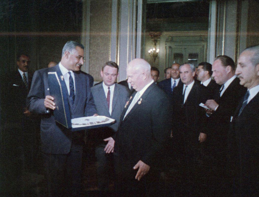 Экспонат #141. На Ближнем Востоке. 1964 год