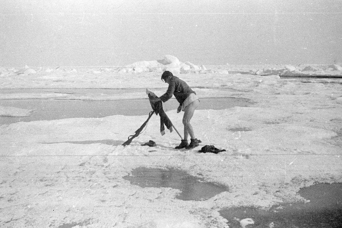 Экспонат #23. На «Сибирякове». 1932 год