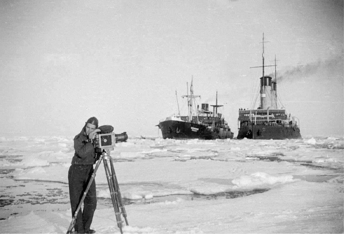 Экспонат #43. Марк Антонович Трояновский. «Челюскин». 1933 год