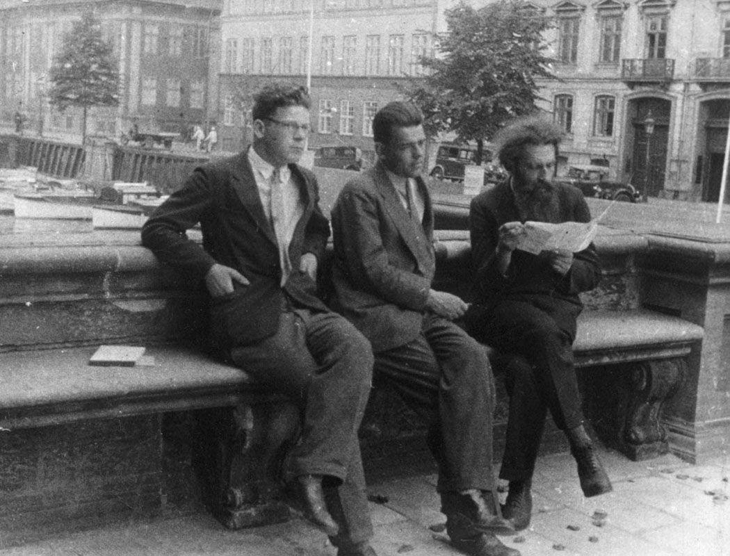 Экспонат #38. В Копенгагене. 1933 год