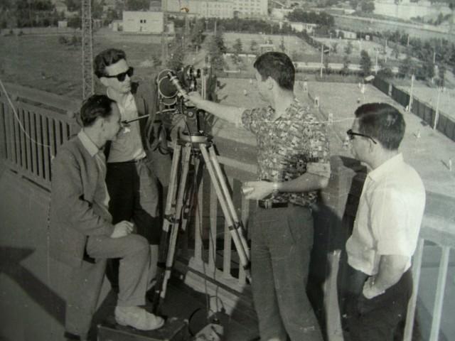 Экспонат #3. Съёмочная группа фильма «Город здоровья». 1965 год